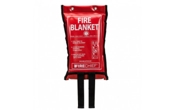 Fire Blanket 1.2m x 1.2m in Soft Case
