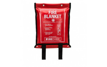 Fire Blanket 1.2m x 1.8m in Soft Case