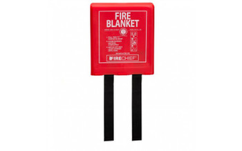 1.1m x 1.1m Rigid Case POD Fire Blanket