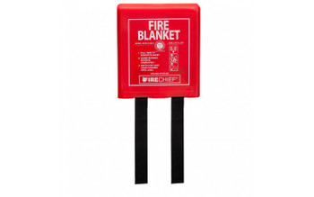 1.2m x 1.8m Rigid Case Pod Fire Blanket