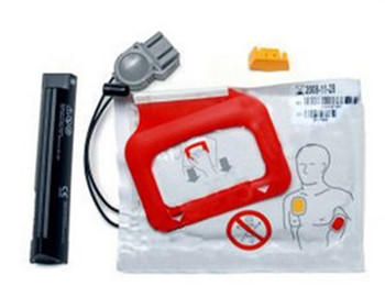 Physio-Control CHARGE-PAK Charging stick and one set of Quickpak adult electrode pads