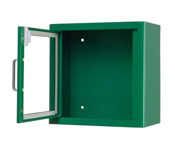 ARKY Indoor AED Cabinet door open