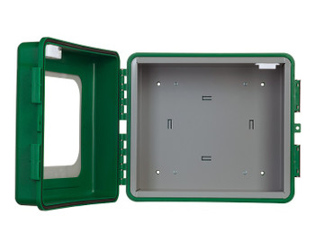 ARKY Outdoor AED Cabinet with Inlay & Alarm Open