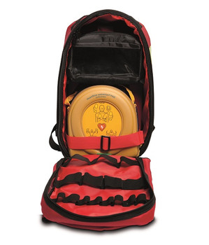 AED Backpack Compact Open