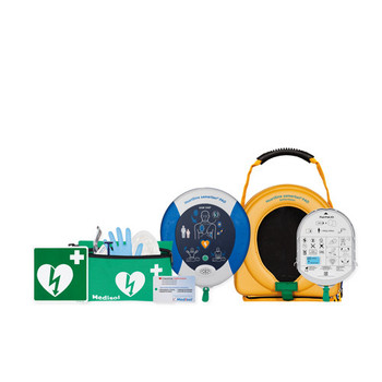 Heartsine Samaritan 350P Semi Automatic AED with Free Accessories