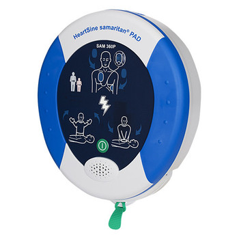HeartSine Samaritan 360P fully automatic AED with FREE accessories (PAD360P-UK)