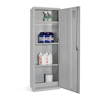 Coshh Cabinet - 1830 x 610 x 457mm 722418COS open