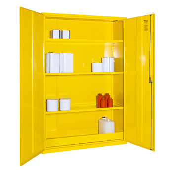 Dangerous Substance Cabinet 1830 x 1220 x 457mm (724818CSC) open