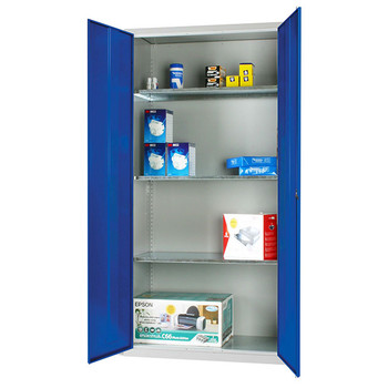 Standard Cupboard 1830 x 915 x 457mm blue