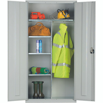 Clothing & Equipment Cupboard 1830 x 915 x 457mm (723618CE) grey