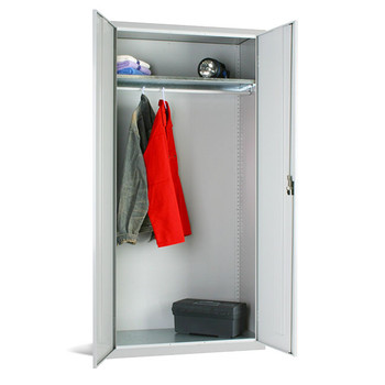 Wardrobe Cupboard 1830 x 915 x 457mm (723618W) grey