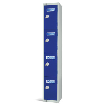 Four Door PPE Locker 1800x300x450mm (PPE1830454)