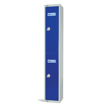 Two Door PPE Locker 1800x300x450mm (PPE1830452)