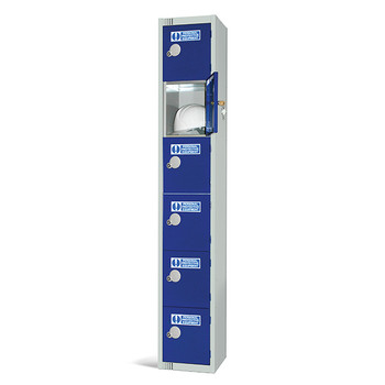 Six Door PPE Locker 1800x300x300mm (PPE1830306)