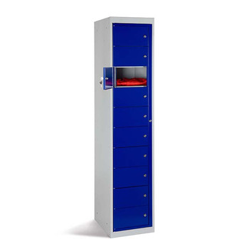 Garment Dispenser Locker (10 Door Unit) 1830 x 381 x 457mm