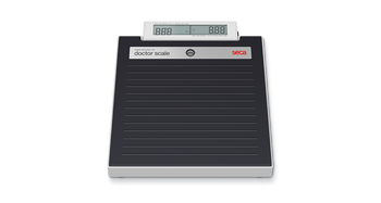 seca 878 dr - Electronic flat scale with customisable name label