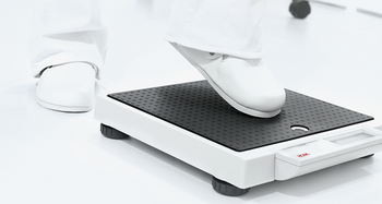 seca 877 Flat scale for mobile use