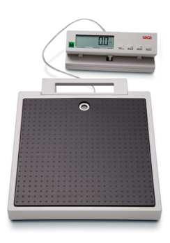 seca 899 Flat scale with cabled remote display