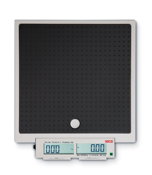 seca 878 Flat scale for mobile use with push buttons and double display