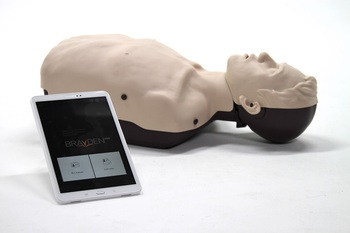 Brayden Pro CPR Manikin with tablet