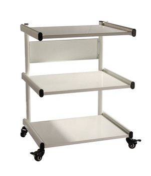 Therapists 3 Shelf Trolley