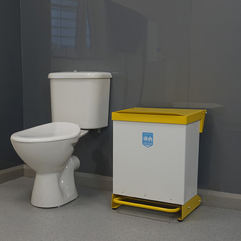 Sanitary Bin – 42 Litre Capacity – Foot Pedal Operated
