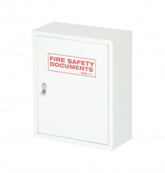 Metal Document Cabinet, Seal Latch - White