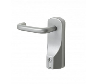 Lever Operated Outside Access Device with Euro Cylinder