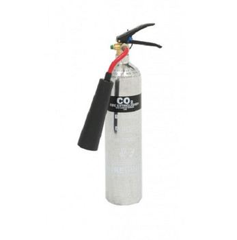 Firechief 2kg CO2 Polished Alloy extinguisher
