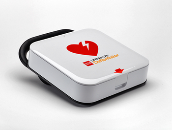 Physio-Control Lifepak CR2 Fully Automatic Defibrillator with WIFI