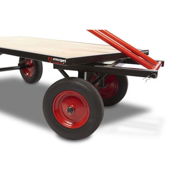 Turntable Truck, robust large trolley for moving materials 760x1820x455mm