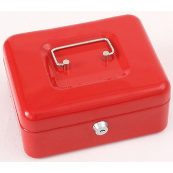 "Phoenix 8"" Cash Box CB0101K with Key Lock"