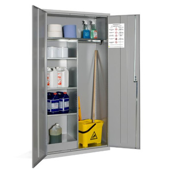 Janitorial Coshh Cabinet - 1830 x 915 x 457mm (723618JANCOS)
