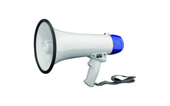 Mini megaphone with built in microphone 10W