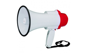Mini megaphone with folding hand grip 10W