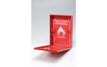 Slimline Document Holder with Key Lock open