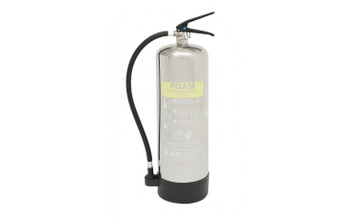 Firechief ELITE 9l Foam Stainless Steel Extinguisher - 27A 233B