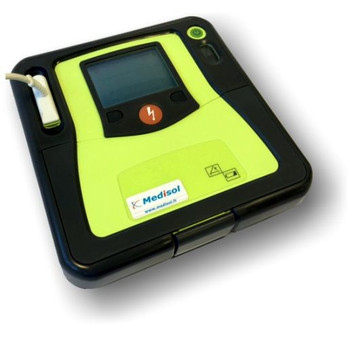 Zoll AED Pro semi-automatic AED side view