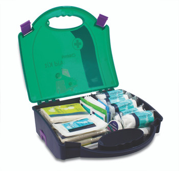 Child Care First Aid Kit open