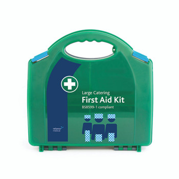 BS8599-1 Large Catering First Aid Kit closed