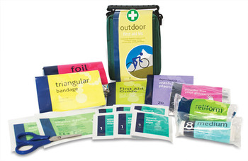 Outdoor Pursuits First Aid Kit contents