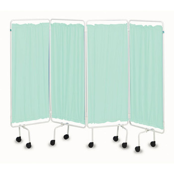 Plastic Screen Curtains (Set of 4) Green