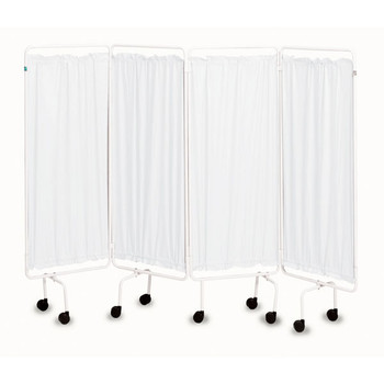 Plastic Screen Curtains (Set of 4) White