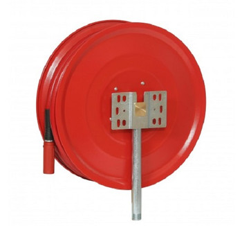 Manual Fixed Fire Hose Reel with 19mm x 30m Hose back