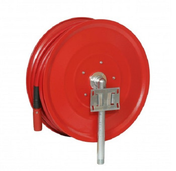 Automatic Fixed Fire Hose Reel with 19mm x 30m Hose back