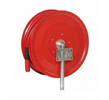 Automatic Swinging Fire Hose Reel with 25mm x 30m Hose back