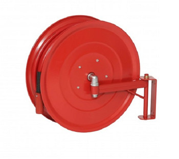 Manual Swinging Fire Hose Reel with 19mm x 30m Hose back