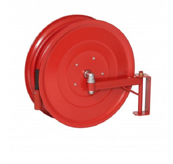 Manual Swinging Fire Hose Reel with 25mm x 30m Hose back