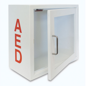 Alarmed AED Storage Cabinet v2