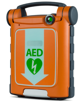 Cardiac Science Powerheart G5 Fully Automatic AED (with 1 set of pads)